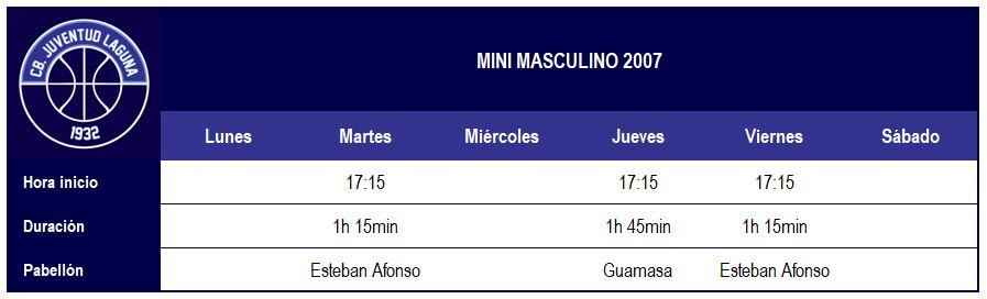 Calendario 1932 Espana.Mini Masculino Club Baloncesto Juventud Laguna